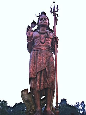 Trident - Image: Statueofshiva