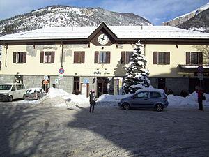 Oulx-Cesana-Claviere-Sestriere railway station - Oulx-Cesana-Claviere-Sestriere railway station