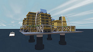 "Seasteading - The Seasteading Institute's ""ClubStead"""