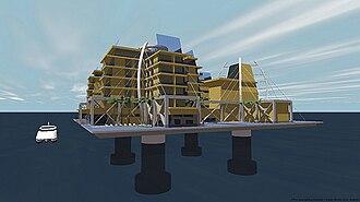"""Seasteading - The Seasteading Institute's """"ClubStead"""""""