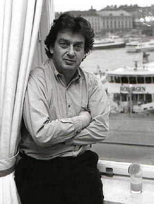 Stephen Frears - Frears in Sweden, 1989, promoting his film Dangerous Liaisons