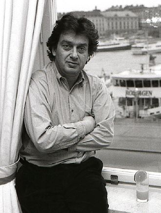 Stephen Frears - Frears in Sweden, 1989, promoting his film Dangerous Liaisons