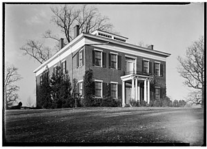 Oakland (Parkersburg, West Virginia) - Front and side of the house