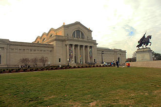 Culture of St. Louis - The Saint Louis Art Museum. Free  admission.