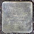 Stolperstein Barbarossastr 8 (Schön) Joseph Littmann.jpg