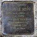 Stolperstein Bochumer Str 14 (Moabi) Elfriede Kopp.jpg