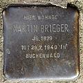 Stolperstein Dieffenbachstr 49 (Kreuzb) Martin Brieger.jpg