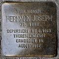 Stolperstein Hermann Joseph Neue Hochstraße 10 0117.JPG