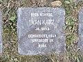 Stolperstein Iwan Katz, 1, Hinterstraße 51, Bad Wildungen, Landkreis Waldeck-Frankenberg.jpg