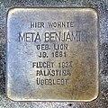 Stolperstein Meta Benjamin in Uelzen.jpg