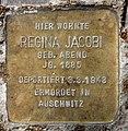Stolperstein Motzstr 30 (Schön) Regina Jacobi.jpg