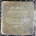 Stolperstein Savignyplatz 4 (Charl) Julius Wenik.jpg