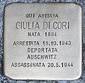 Stolperstein für Giulia di Cori (Rom).jpg
