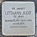 Stolperstein für Judit Littmann (Miskolc).jpg