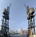 Stothert And Pitt Cranes On North And South Sides Of The Royal Victoria Dock.jpg