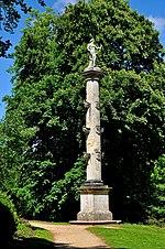 Stowe Park Buckinghamshire rostral column