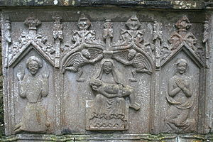 Strade - Image: Strade Friary Relief 2007 08 14