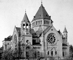 History of the Jews in Alsace - Image: Strasbourg ancienne Synagogue quai Kléber 1898