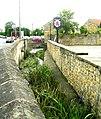 Stream - Front Street, Bramham - geograph.org.uk - 949815.jpg