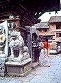 Street scene, Bhaktapur, Nepal. 1979.jpg