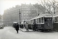 Street traffic in Paris in 1927 - Stockholm Transport Museum 03.jpg