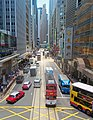 Street traffic on De Voeux Road, Hong Kong.jpg