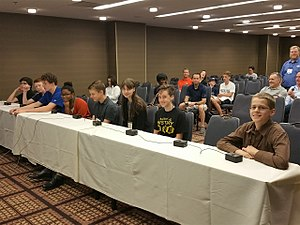 National History Bee and Bowl - Students competing in National History Bee