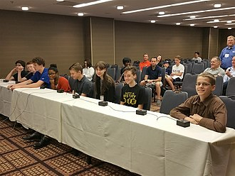 National History Bee and Bowl - Students competing in the National History Bee