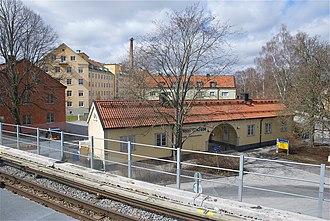 Stureby - Image: Stureby sjukhem 2012a