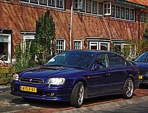 Subaru Legacy (third generation) - 1999–2001 Subaru Legacy B4 sedan