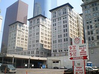 Los Angeles streets, 1-10 - Image: Subway Terminal Building