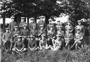 Suffolk Yeomanry - Group portrait of the Suffolk Yeomanry