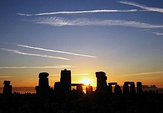 Salisbury Plain Chalk plateau in England