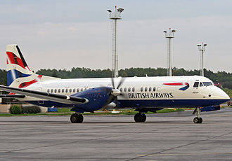 British Aerospace ATP - Sun Air of Scandinavia, a British Airways franchise, in 2006
