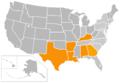 Sun Belt Map 2013.png