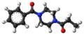 Sunifiram molecule ball.png