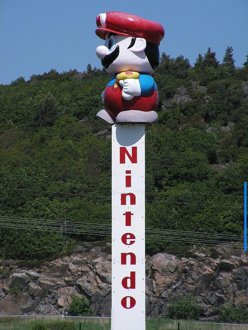 Standbeeld van Mario in Kungsbacka, Zweden
