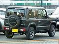 Suzuki Jimny XC (3BA-JB64W) rear.jpg
