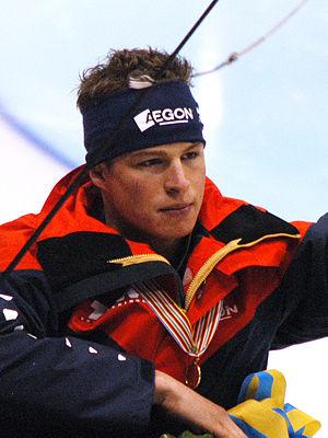 Sven Kramer - Sven Kramer after winning the 2009 European Speed Skating Championships in Heerenveen
