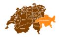 Swiss cantons brown-graubuenden.png