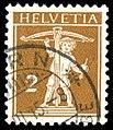Switzerland 1910 2c type III Zs123III.jpg
