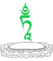 TAM seed syllable of Tara.png