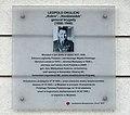 Tablica Leopold Okulicki plac Wilsona 4.jpg