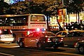Taipei City Police car on night patrol 20050514.jpg