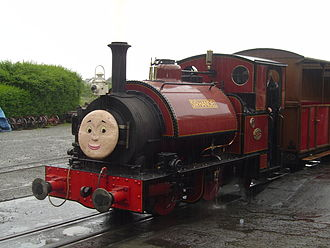 Sir Handel - Talyllyn No. 3 in the guise of Sir Handel at Tywyn Wharf