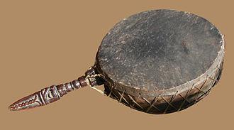 Dhyāngro - Image: Tambour Himalaya