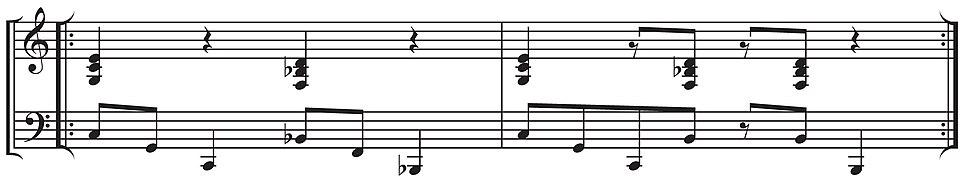 Tanga piano guajeo