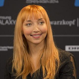 Tanja Mihhailova-Saar Russian-Estonian pop singer and actress