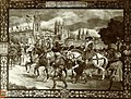 Tapiz, foto-positivo, Entrada emperador Carlos V en Burgos, FC - 3665, tapiz sin data.jpg