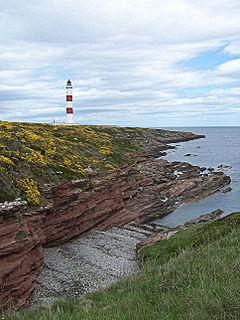 Tarbat Ness Lighthouse lighthouse on the East coast of Scotland